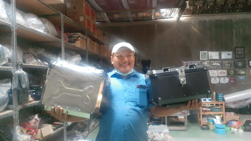 Kisah Bayu Aji, Pengusaha Box Motor Custom Sukses dari Madiun