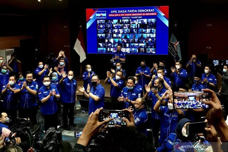 Ucap Janji Setia ke AHY, DPD Partai Demokrat se Indonesia Tolak KLB