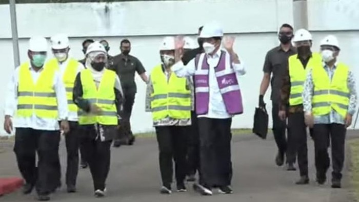 Masyarakat Pasuruan Antusias Sambut Jokowi Resmikan SPAM Umbulan