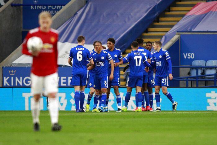 Piala FA: Kalah 1-3 dari Leicester, Manchester United Tersingkir