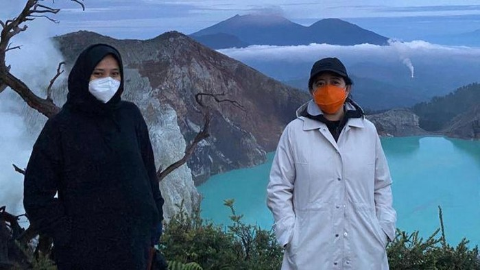 Daki Gunung Ijen, Puan Maharani Terpesona Banyuwangi
