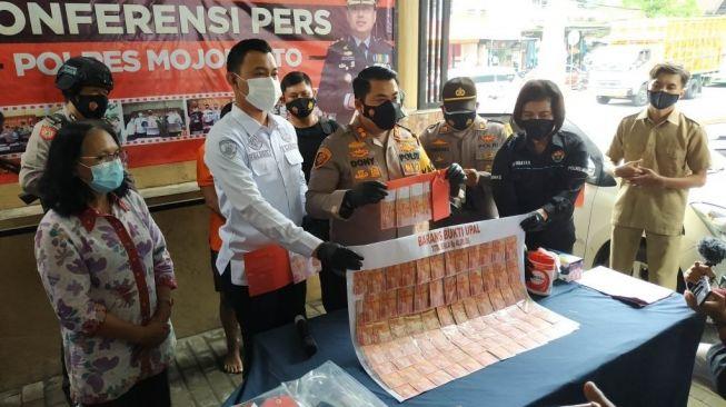 Warga Jombang Edarkan Upal di Mojokerto, Kades di Nganjuk Terlibat