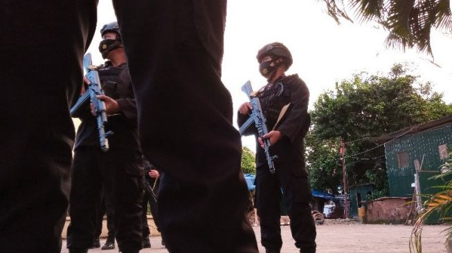 Diserang Pakai Parang, Densus Tembak Mati Terduga Teroris