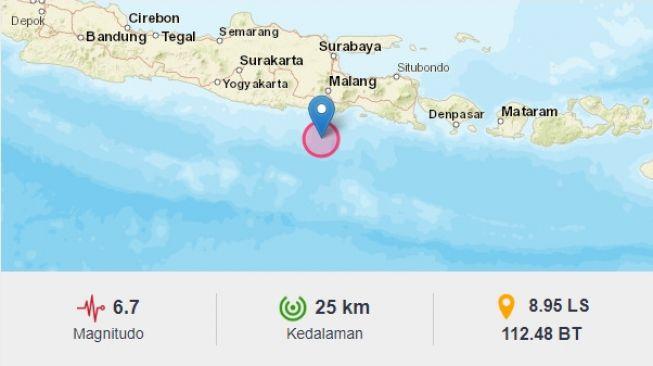 Data Sementara BNPB, 6 Orang Meninggal Dampak Gempa Malang