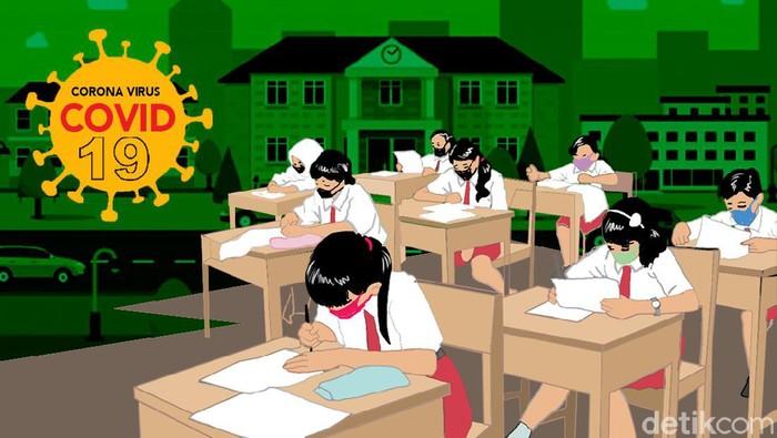 Hanya 4 Daerah di Jatim Belum Uji Coba Sekolah Tatap Muka