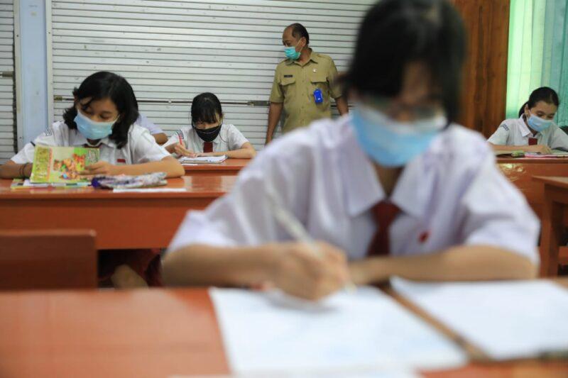 Siswa SD di Kota Madiun Ikuti PAS di Sekolah