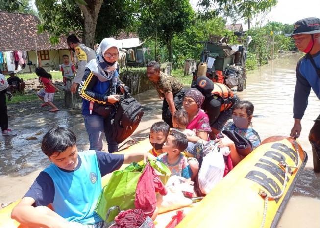 Hujan 8 Jam, 24 Desa di Madiun Kebanjiran, 150 Rumah Terdampak
