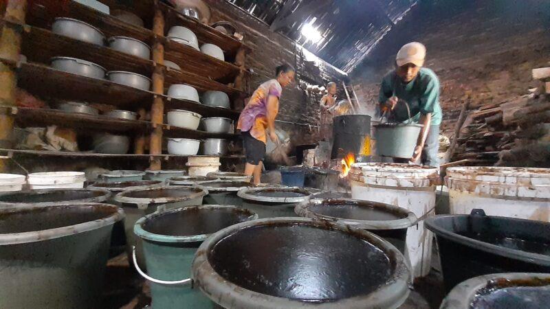 Berkah Ramadan, Omzet Produsen Cincau Hitam di Madiun Naik Rp3,5 Juta Per Hari
