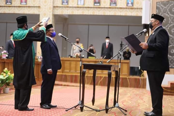 Sudjarwo Resmi Jadi Anggota DPRD Kota Madiun Gantikan Almarhum Djoko Wahardi