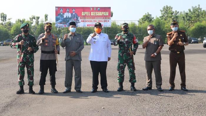 Adang Pemudik, Ngawi Siapkan 450 Personel Jaga Perbatasan Jatim