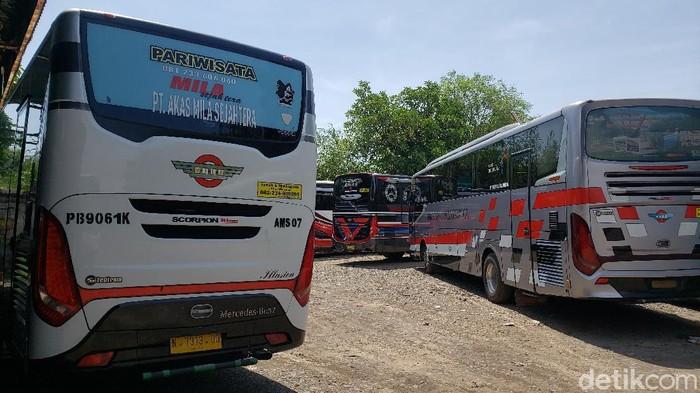 Mudik Dilarang, PO Bus di Probolinggo Berharap Pemerintah Beri THR