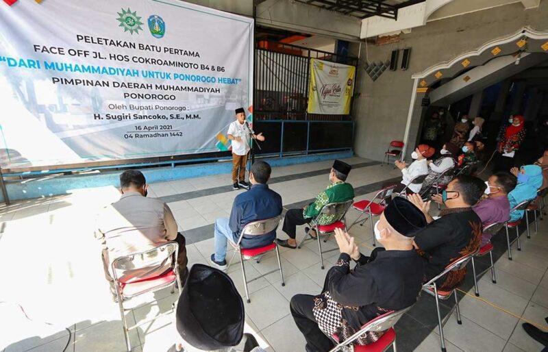 Perombakan Jl. HOS Cokroaminoto Dimulai, Ini Kata Bupati Ponorogo