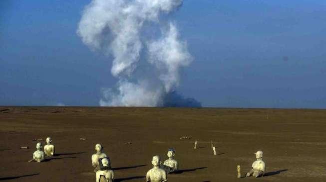 Semburan Lumpur Lapindo Keluarkan Gas Metana Terbesar di Bumi