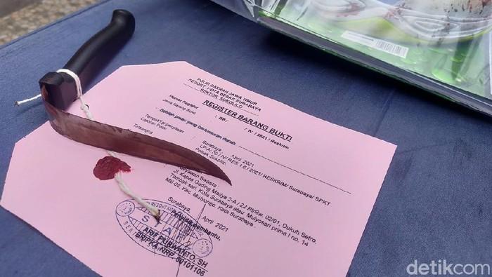 Ngeri! Member Pusat Kebugaran di Surabaya Ditusuk 17 Kali hingga Pisau Bengkok