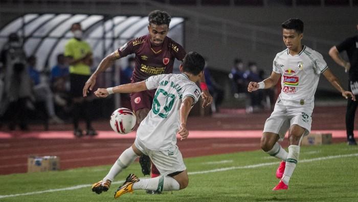 Perebutan Juara III Piala Menpora: 10 Pemain PSS Kalahkan PSM