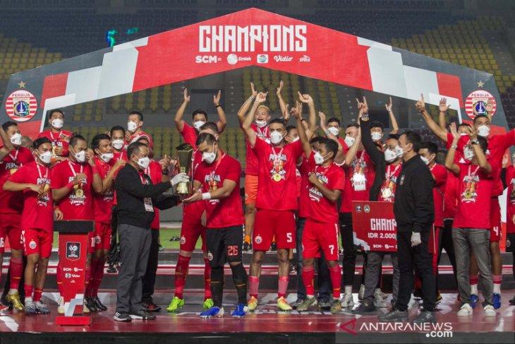 Menang Telak Agregat 4-1 Atas Persib, Persija Juara Piala Menpora 2021