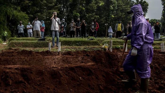 Satgas Corona: Tiap Jam, 4 Orang Indonesia Meninggal karena Covid-19
