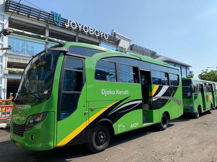 Mudik Dilarang, Bus Antarkota di Terminal Joyoboyo Surabaya Tetap Beroperasi