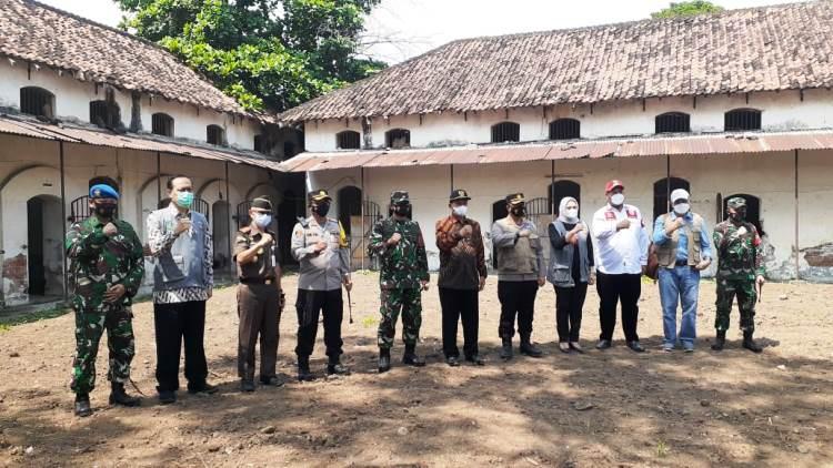 Puji Pemkot Madiun, Satgas Covid-19 Nasional Tinjau Rumah Tahanan Militer untuk Pemudik Bandel
