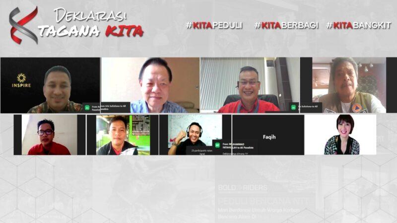 1.018 Komunitas di Indonesia Timur Berkolaborasi dalam Tagana KITA