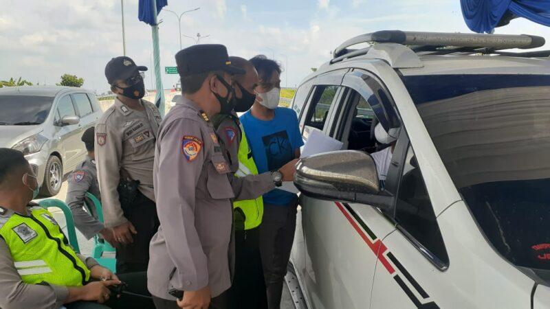 400 Pemudik Diperiksa di Exit Tol Ngawi, Ternyata Ada 2 Pemudik Positif