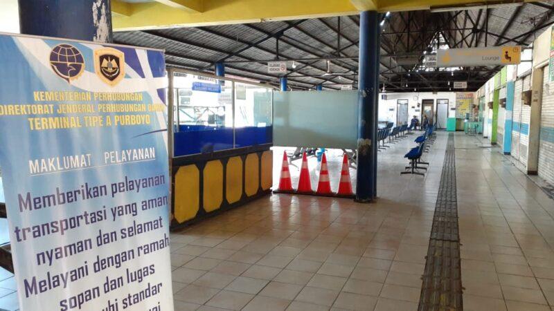 Usai Lebaran, Terminal Madiun Mulai Didatangi Penumpang