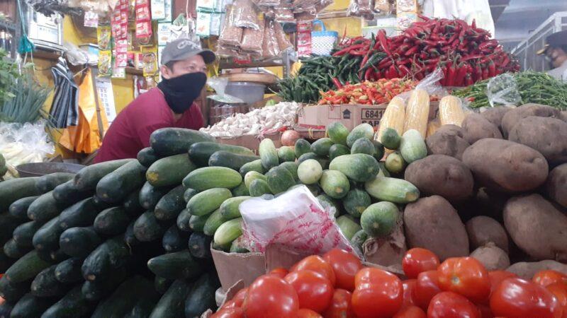 Mudik Dilarang, Pedagang di Madiun Ngeluh Jelang Lebaran Pasar Sepi