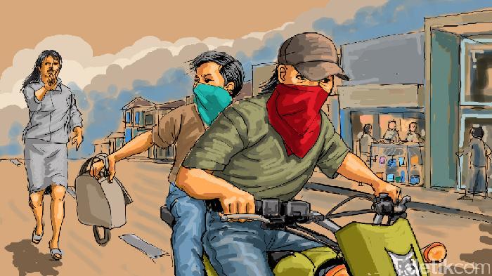Aksi Jambret di Mojokerto Berujung 1 Nyawa Melayang, Begini Ceritanya