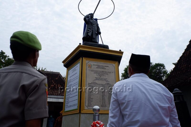 Pernah Disinggahi, Monumen Panglima Jenderal Sudirman Dibangun di Ngindeng Ponorogo