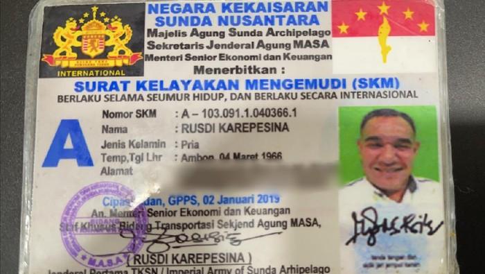 Pakai Pelat Nomor Aneh, Polisi Tilang Pengemudi yang Mengaku Warga Kekaisaran Sunda Nusantara