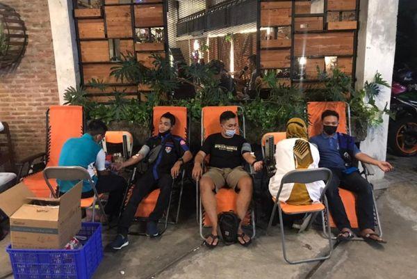 Keren! Bold Riders dan Super Friends Madiun Kolaborasi Sumbang Darah Buat PMI