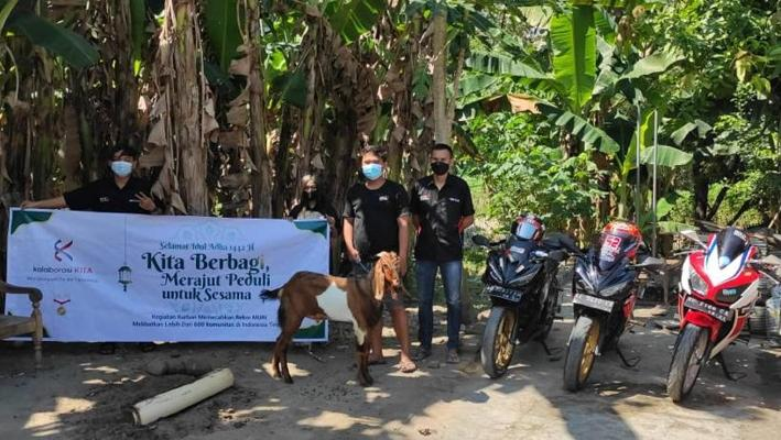 Kurban ala Bold Riders Madiun, Riding hingga Berkolaborasi dengan Karta