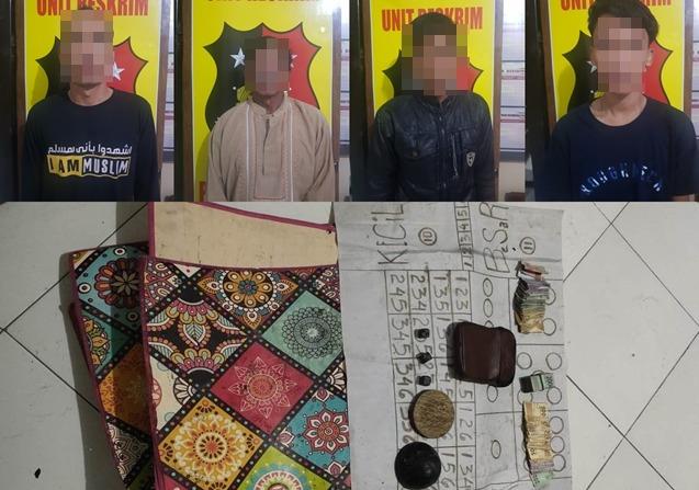 Judi Dadu di Teras Rumah, 4 Warga Ponorogo Ditangkap Polisi