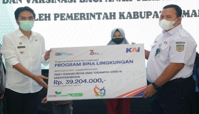 Bupati Madiun Jamin Pendidikan dan Kesehatan 242 Anak Yatim Piatu Korban Covid-19
