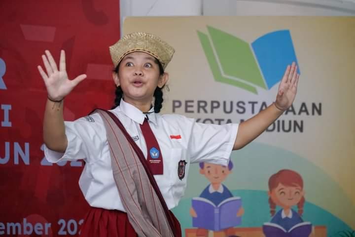 Keren, Siswi SD Kota Madiun Sabet Juara Pertama Lomba Bertutur Nasional