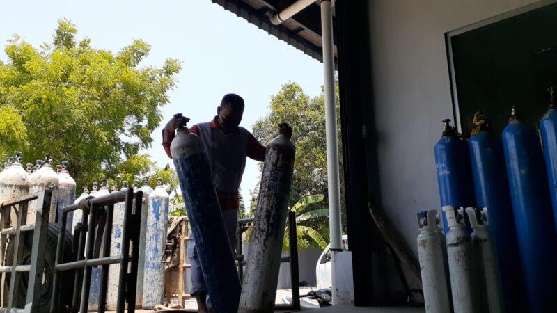 Permintaan Oksigen Medis di Madiun Raya Menurun Drastis