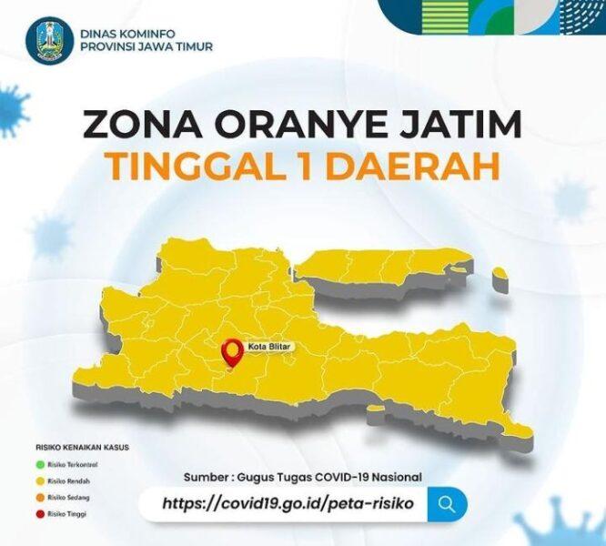 Alhamdulillah, 37 Daerah di Jatim Berstatus Zona Kuning
