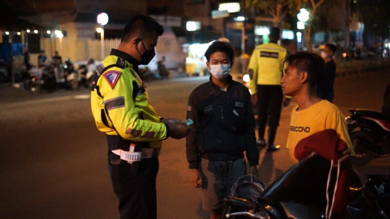 Hendak Balap Liar, Puluhan Sepeda Motor Diamankan Polisi Ponorogo